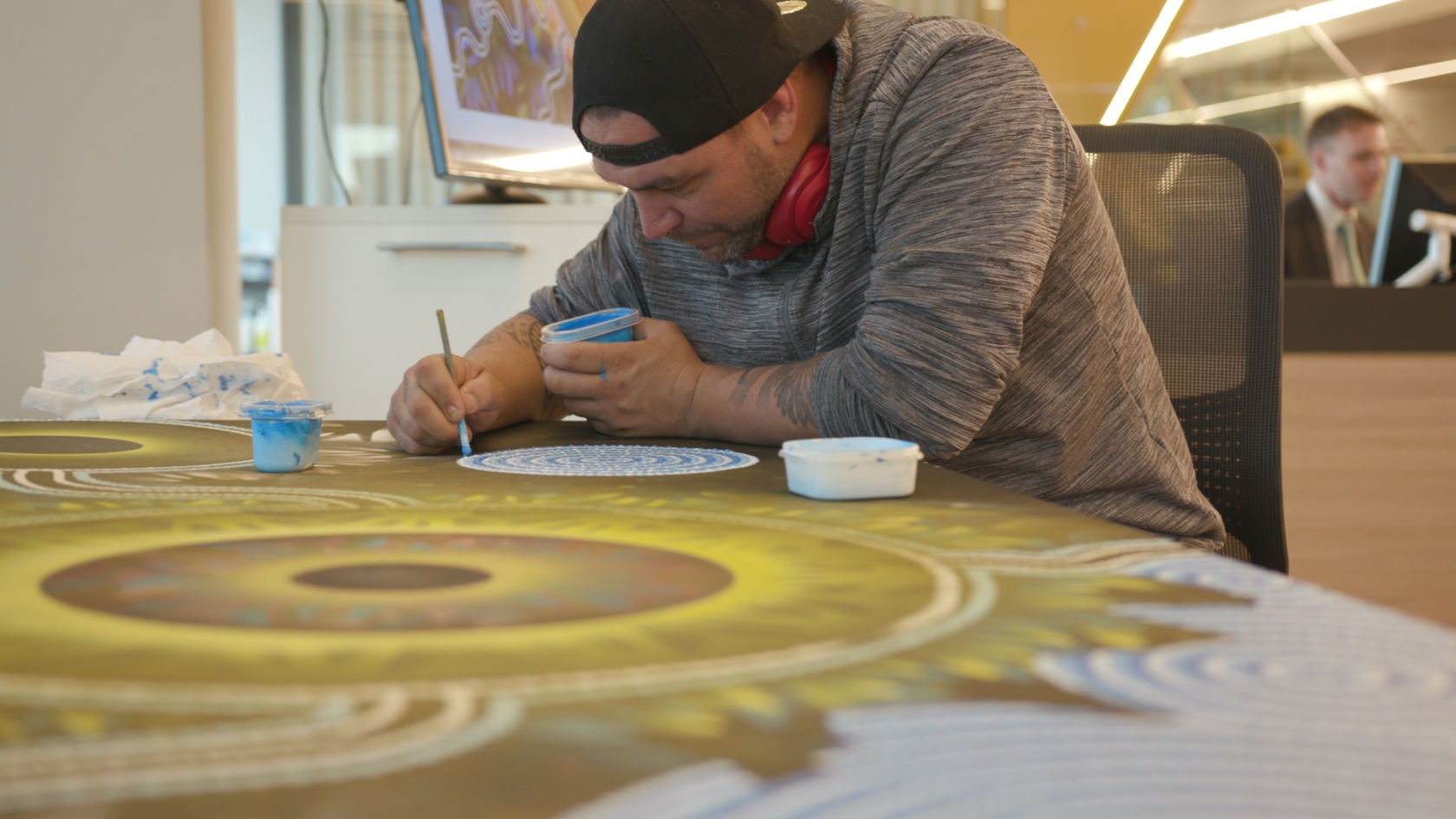 Aboriginal artist Jeremy Donovan - bringing culture to life