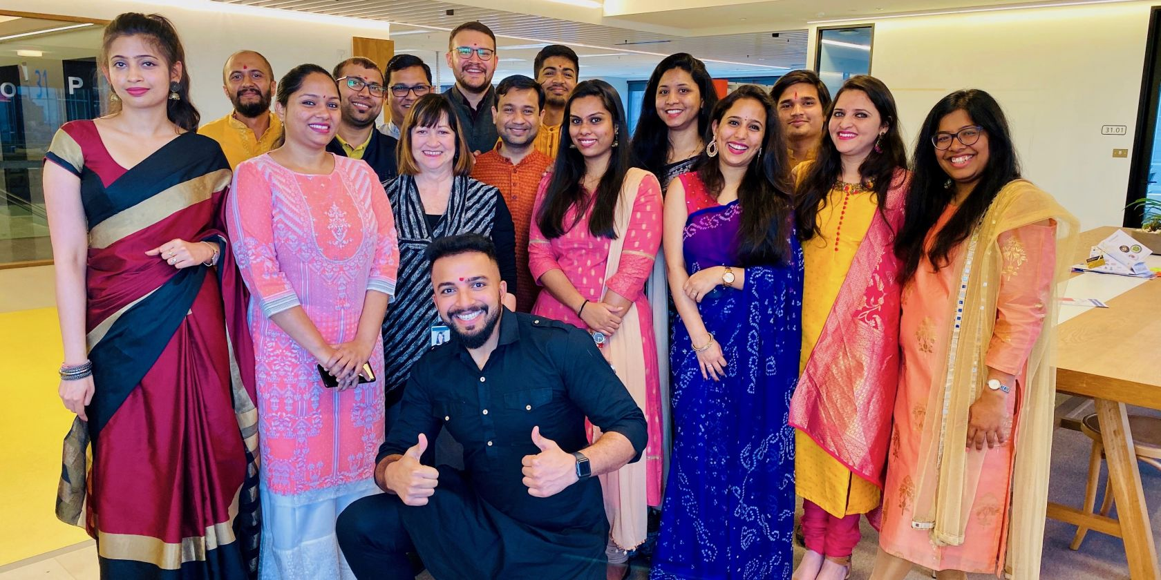 How Suncorp people celebrated Diwali in style