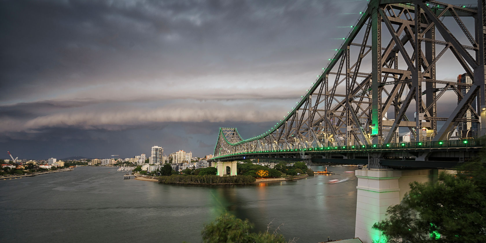 Brisbane southside hit hardest by storms