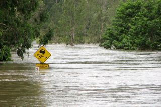 Suncorp on standby to assess damage once waters recede