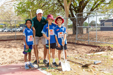 Johnathan Thurston teams up with young athletes to get storm ready