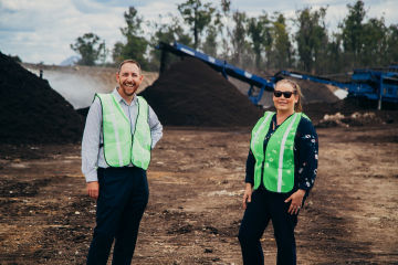Suncorp introduces office composting, as teams celebrate National Recycling Week