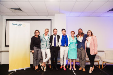 Suncorp proudly sponsors inaugural Here On Purpose panel discussion