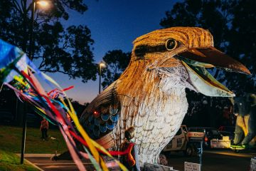 2020's LUMINOUS parade continues to light up our community