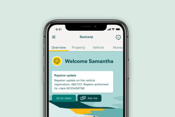 Making life easier with Suncorp App
