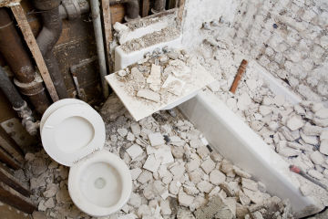 Natural disaster resilience down the drain as Aussies prioritise bathroom renos