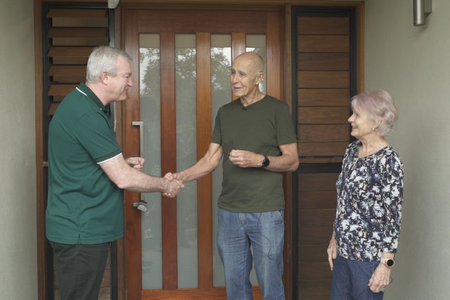 Suncorp Insurance CEO welcomes flood-affected customers home