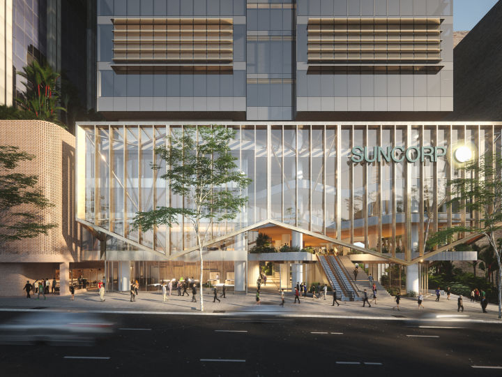 Construction begins on Suncorp's new Brisbane Headquarters